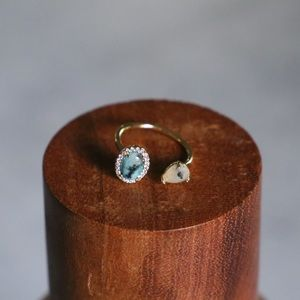 Tai Adjustable Gold Plated Ring
